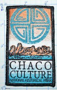 CHACO CULTURE NATIONAL HISTORICAL PARK NEW MEXICO PUEBLOS SOUVENIR PATCH