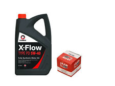 FORD KA 1.3TDCI  QUALITY OIL FILTER AND 5 LITRES OF COMMA OIL