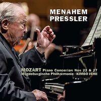Menahem Pressler - Mozart Piano Concertos Nos 23 and 27 [CD]