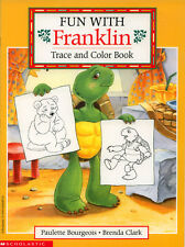 Franklin coloring book RARE UNUSED Nickelodeon