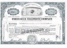 Porto Rico Telephone Company 1961