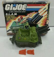 GI Joe 1987 SLAM Tank Complete w Missiles Vintage Vehicle Hasbro w/ Box RARE