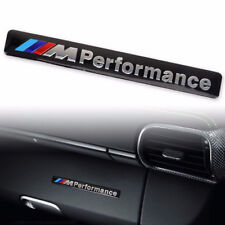 AUTOCOLLANT STICKER 3D METAL M PERFORMANCE BMW EN ALUMINIUM DIM. 8,5 X 1,3 CM