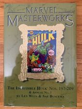Marvel Masterworks #263 INCREDIBLE HULK Volume #12 Dm Variant Cover (2018) $75