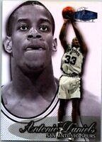 1998-99 FLAIR SHOWCASE BASKETBALL CARD ROW 3 #88 ANTONIO DANIELS SPURS