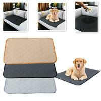 Pet Puppy Dog Training Absorbent Pad Reusable Machine Pee AU Toilet I9B1
