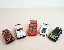 Joblot - 5 x Vintage toy cars - Corgi & Burago - Racing & Rally cars