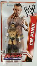 Cm Punk Action Figure #34 WWE Raw Super Show 2011 Mattel New Sealed