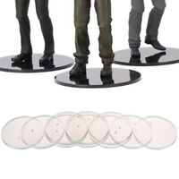 """10Pcs Action Figure Display Stands Base Fits most 6"""" to 8"""" Action Figures Mo ji"""