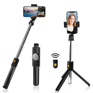 Bluetooth Selfie Stick Tripod Remote Extendable Monopod for Samsung S21 S20 S10+