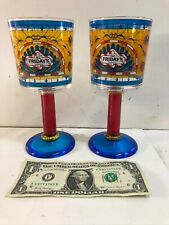Vintage Rare Plastic 1995 TGI FRIDAY'S Restaurant Goblet Cup