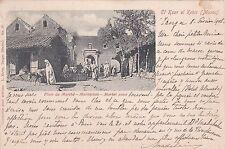 * MOROCCO - El Ksar el Kebir - Market Place 1905 (L.Karm Tanger)