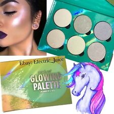 OKALAN GLOWING PALETTE SHIMMER KIT HIGHLIGHT STROBE FACE POWDER