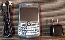 BlackBerry Curve 8310 - Titanium (AT&T) Smartphone bundle charger usb cable