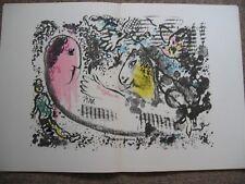 Marc Chagall DERRIERE LE MIROIR DLM 182