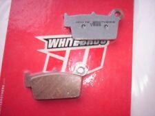 White Bros Sintered Rear Brake Pads for Yamaha YZ125/250,YZ250F-450F,WR250F/450F