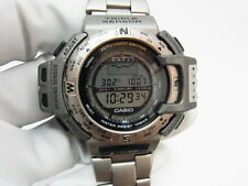 Casio ProTrek PRT-411 Triple Sensor Titanium Watch (g-shock 40