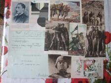 lotto cartoline II Guerra Mondiale (b9)