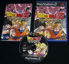 DRAGON BALL Z BUDOKAI 2 Ps2 Versione Italiana 1ª Ed Dragonball ••••• COMPLETO