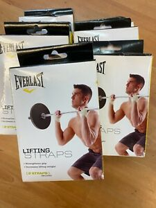 EVERLAST --Weight Lifting Wrist Wraps Supports JOBLOT x 10  last one