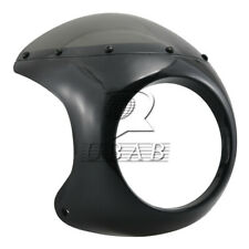 "Motorcycle Cafe Racer Handlebar 7"" Headlight Windshield Fairing Screen Universal"