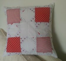 Summertime Cherries, Spots and Gingham cushion / pillow cover with cushion pad.