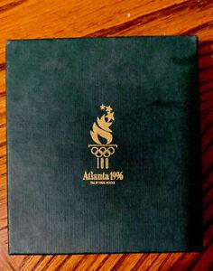 1996 Atlanta Olympics Key Chain & Money Clip Box Set Authentic Licensed Product