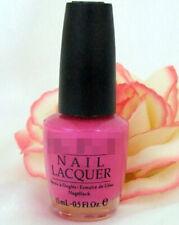 Opi Nail Polish Lacquer La Paz-itively Hot .5 oz Fuchsia Bright Pink Flamingo