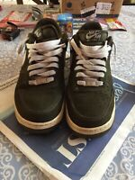 Nike Air Force 1 Men's Sneakers Dark Loden Green White 488298-311 US 8.5