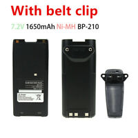 1650mAh Replacement Two-Way Radio Battery BP-210 IC-F11 IC-F21 IC-V8 for ICOM