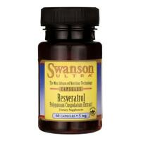Swanson Ultra Resveratrol 5mg, 60 Capsules A Powerful Antioxidant