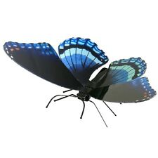 Fascinations Metal Earth Red Spotted Purple Butterfly 3D Steel Puzzle Model Kit