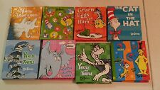 """One (1) Dr. Seuss Miniature Book Cover Style Notepad Blank pages fit 18"""" Dolls"""