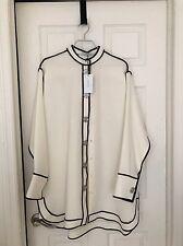 JW Anderson White Button Dress SS16 UK 10 Original Price $1100