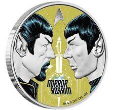 2017 Star Trek The Original Series MIRROR, MIRROR 1oz Silver Proof Coin