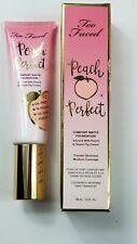 Too Faced Peach Perfect Comfort Matte Foundation Mahogany Medium Coverage