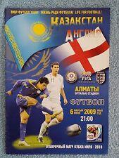 2009-Kazajistán V Inglaterra Copa mundial de programas 2010 calificador