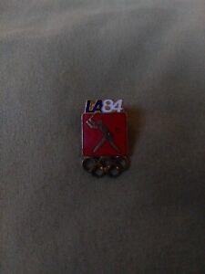 "Original Limited Edition ""LA '84"" 1984 Los Angeles Summer Olympics Baseball Pin"
