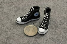 1/6 scale classic Black Women female girls Convers All Star Shoes Sneakers Boots