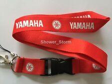 Red White YAMAHA Lanyard NEW UK Seller Keyring ID Holder Strap