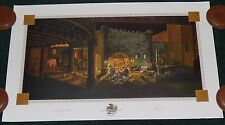 DISNEY PIRATES OF THE CARIBBEAN THE FINAL SCENE THE TREASURE ROOM LE LITHOGRAPH