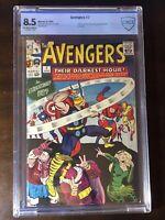Avengers #7 (1964) - Enchantress, Zemo, Loki!! - CBCS 8.5!! (Not CGC) - Stan Lee