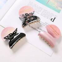 Fashion Acrylic Butterfly Clip Women Girls Hair Clips Hair Barrette Hair Claw