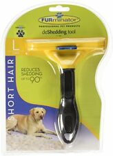 FURminator Short Hair deShedding Tool for Dogs Large Reduce Shedding