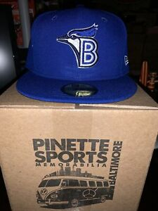 Bluefield Blue Jays MiLB New Era Diamond 59Fifty Cap Hat Mens Size 7 1/2 Toronto