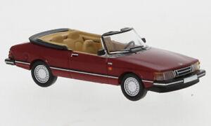 Saab 900 Cabrio dunkelrot rot 1986 - PCX87 870127