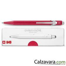 Caran d'Ache 849 Kugel POPLINE BALLPOINT pen mit box - Rot red Metall