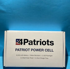 ORIGINAL PATRIOT POWER CELL USB Solar Charger 4Patriots - BRAND NEW IN BOX 2020