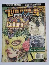 Lowrider Arte Magazine Features Girls, Glitz and Glamour Dec/Jan 2003/04