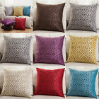 Vintage Luxury Geometric Linen Cushion Cover Throw Pillow Case Sofa Home Decor